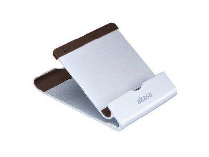 AKASA stojánek na tablet AK-NC053-BR hliníkový, stříbrný/hnědý