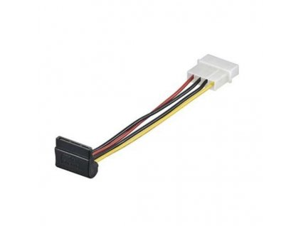 Napájecí kabel SATA zahnutý 90°