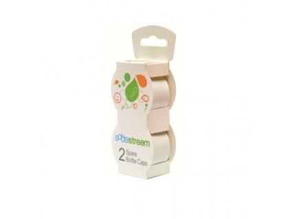 Sodastream Víčko Bílé na plast. lahve 2 ks