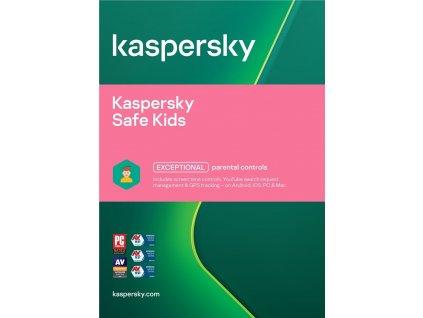 Kaspersky Safe Kids, 1 lic., 1 rok, nová licence, elektronicky (ESD)