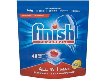 Finish Allin1 Max Lemon 48 ks