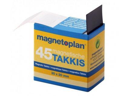 Magnetoplan Samolepící magnety Takkis (45ks)
