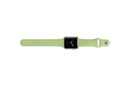 Tactical silikonový řemínek pro Apple iWatch 4 40mm Green