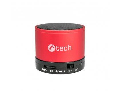 C-TECH SPK-04R Bluetooth reproduktor, červený