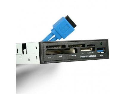 """AXAGON CRI-S3 interní 3,5"""" USB 3.0 čtečka"""