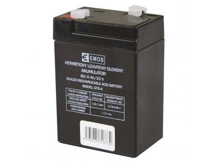 Náhradní akumulátor AKU. SLA 6V 4AH FAST.4,7 MM