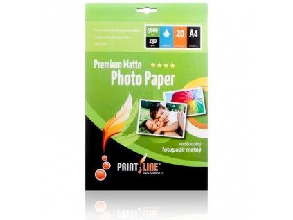 Fotopapír PrintLine A6 Premium matte