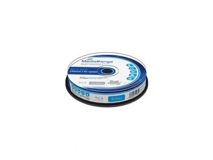 BD-R MediaRange Blu-ray 25GB 4x Printable (10pack)