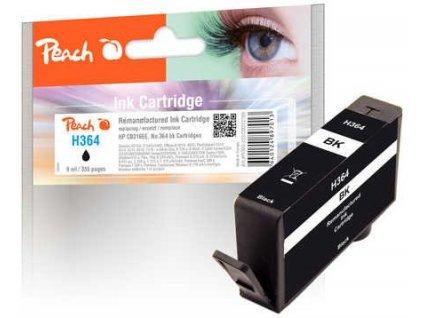 Peach H364 černá kompatibilní s HP No. 364, CB316EE
