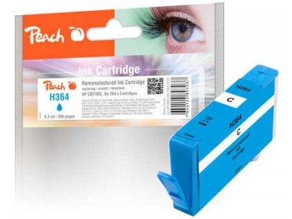 Peach H364 cyan kompatibilní s HP No. 364, CB318EE