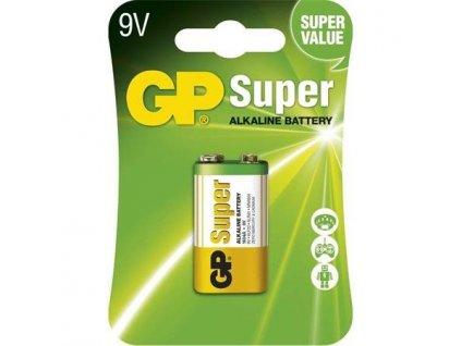 GP baterie Super Alkaline 9V blistr blister, 1 kus