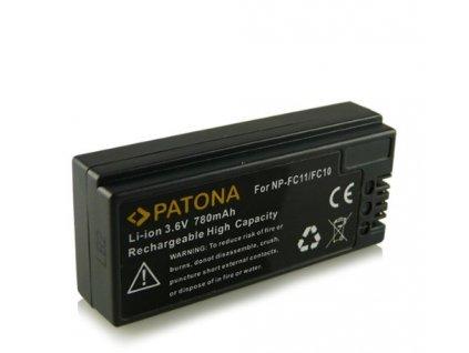 Patona PT1053 - Sony NP-FC10/11 780mAh Li-Ion