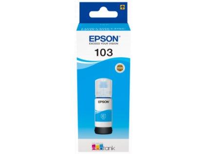 Epson EcoTank 103 Cyan, azurová
