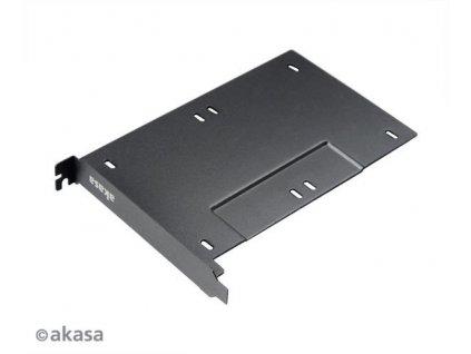 "AKASA AK-HDA-10BK adaptér pro 2.5"" disky do PCIe/PCI slotu"