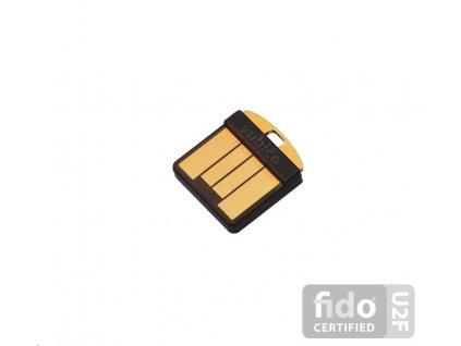 YubiKey 5 Nano - USB-A, klíč/token s vícefaktorovou autentizaci, podpora Smart Card (2FA)
