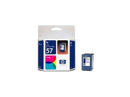 HP 57 Color (17ml) pro DJ 5550, PS7x50 (C6657A) - originální