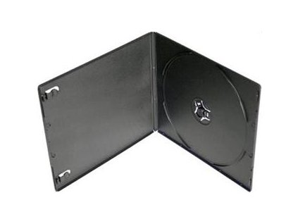 Box na 1 CD/DVD VCD slim ultra 5,2 mm