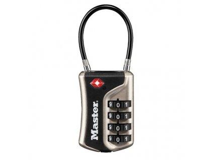 Master Lock Visací kombinační zámek TSA 4697EURDNKL