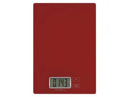 Digitální kuchyňská váha EV003, červená
