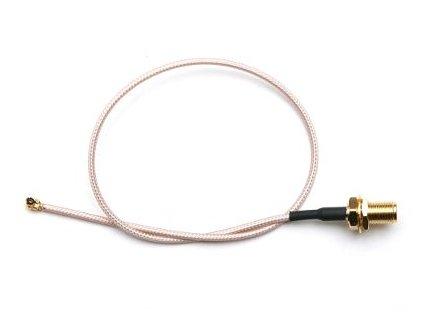 Pigtail 25cm RG178U µ.fl - RSMA female pro miniPCI