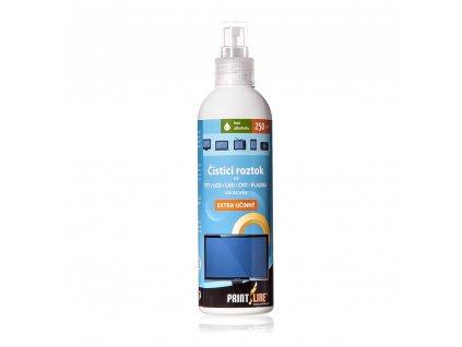 PRINTLINE čisticí sprej 250 ml - pro obrazovky LCD/CRT