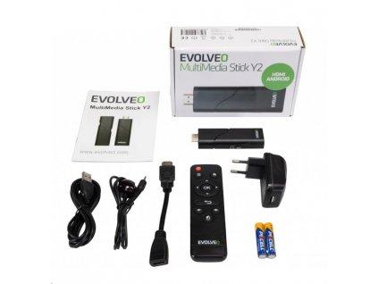 EVOLVEO MultiMedia Stick Y2, bezdrátový HDMI Android adaptér