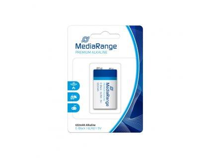 MediaRange Premium Alkalické baterie E-block 9V blister 1ks/balení