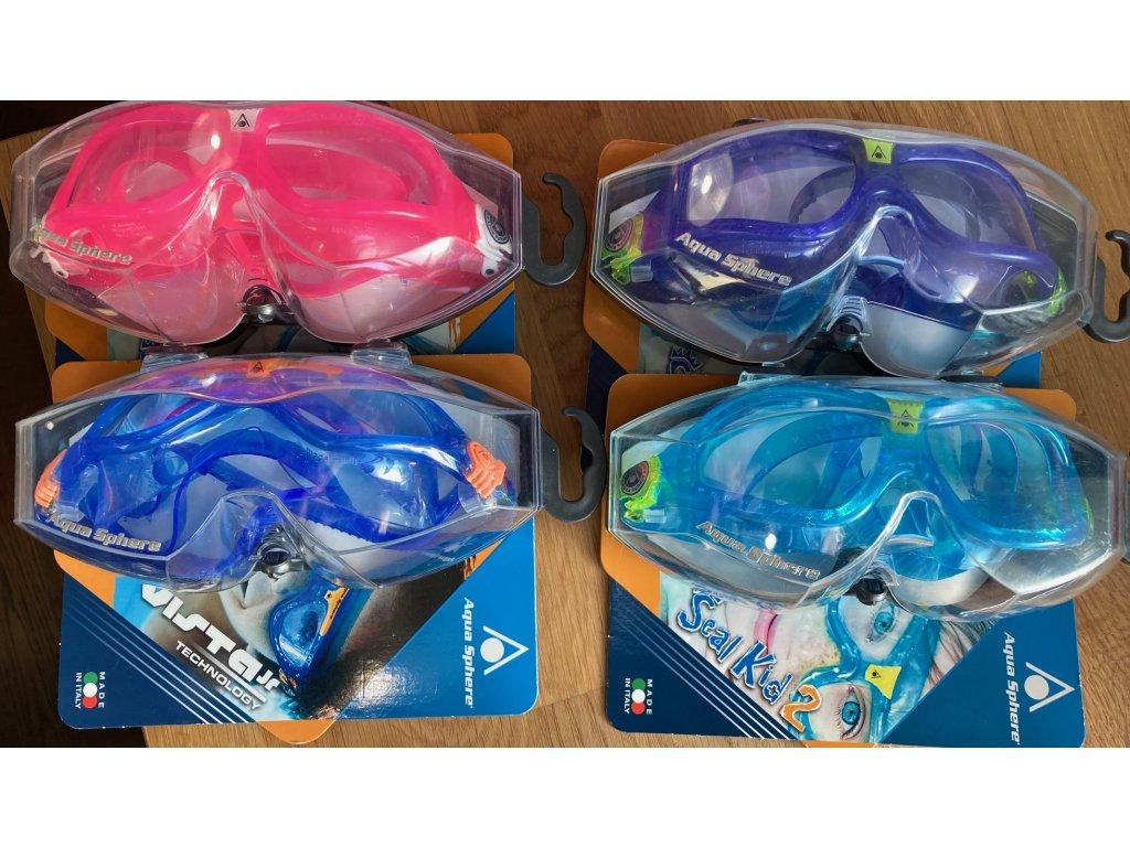 Dětské plavecké brýle - Seal Kid 2 Aqua Sphere