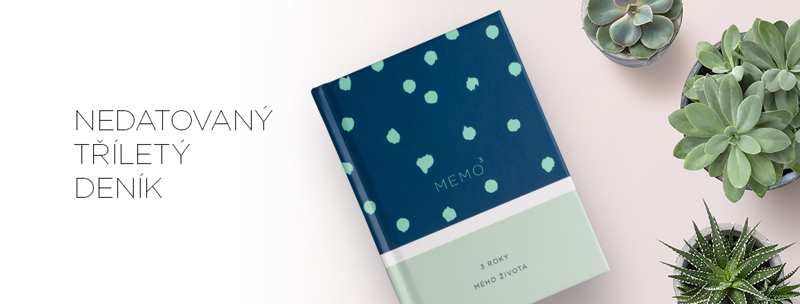 Memo3 / 3 roky vašeho života v jedné knize
