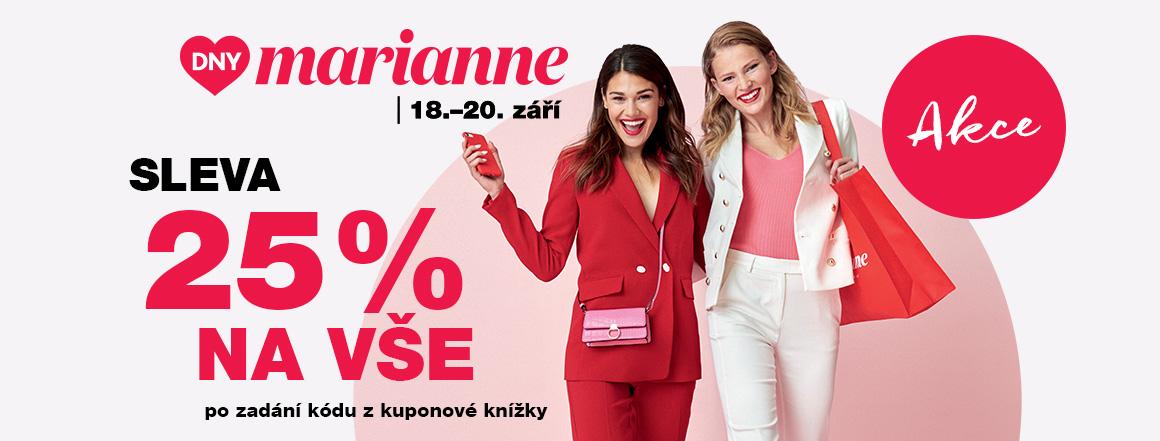 Dny Marianne 2020 | sleva 25% na vše