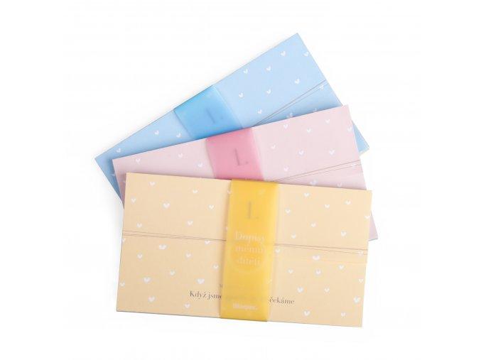 Dopisy tri barvy 2