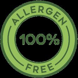Bez alergenů - i bez pšenice / lepku, ořechů apod. Alergen