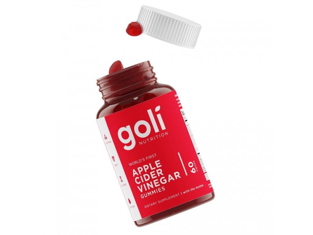7. GOLI ACV Bottle with gummies