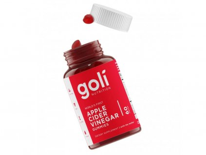 7. GOLI ACV Bottle with gummies