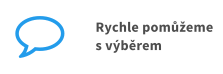 Rychle pomůžeme s výběrem