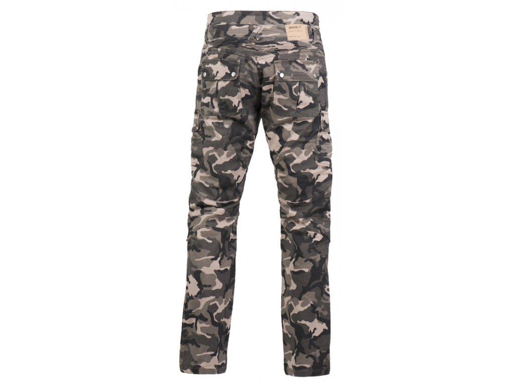 MBW CAMO PANTS - dámské a pánské textilní moto kalhoty
