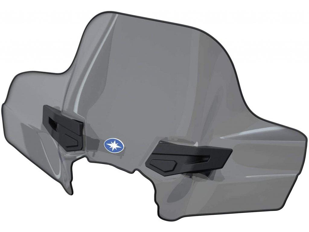 Polaris K-WINDSHIELD ATV MID smoke - štít
