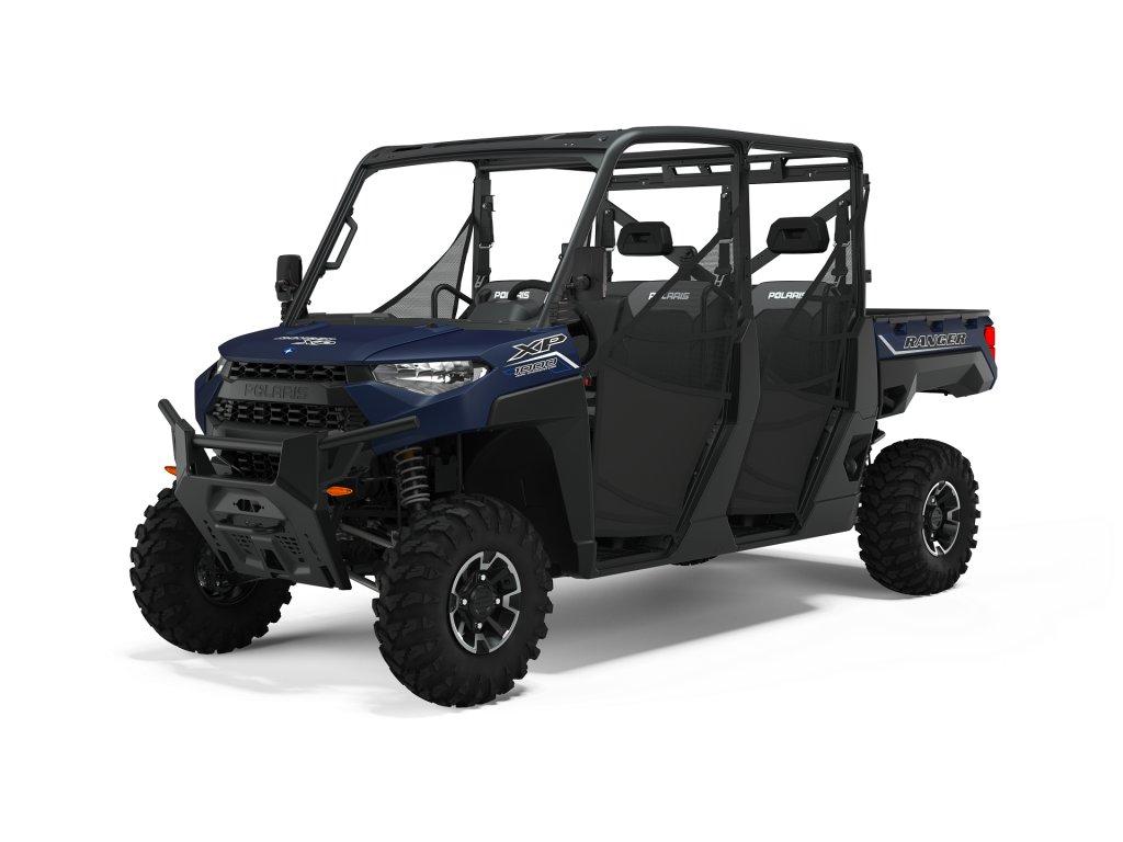 2021 ranger crew xp 1000 eps 6 matte navy blue tractor 3q