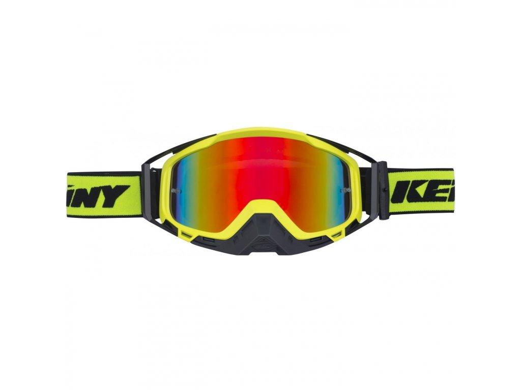 Brýle Kenny neon žlutá