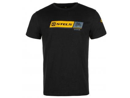 Tričko Stels Adventure-Černé