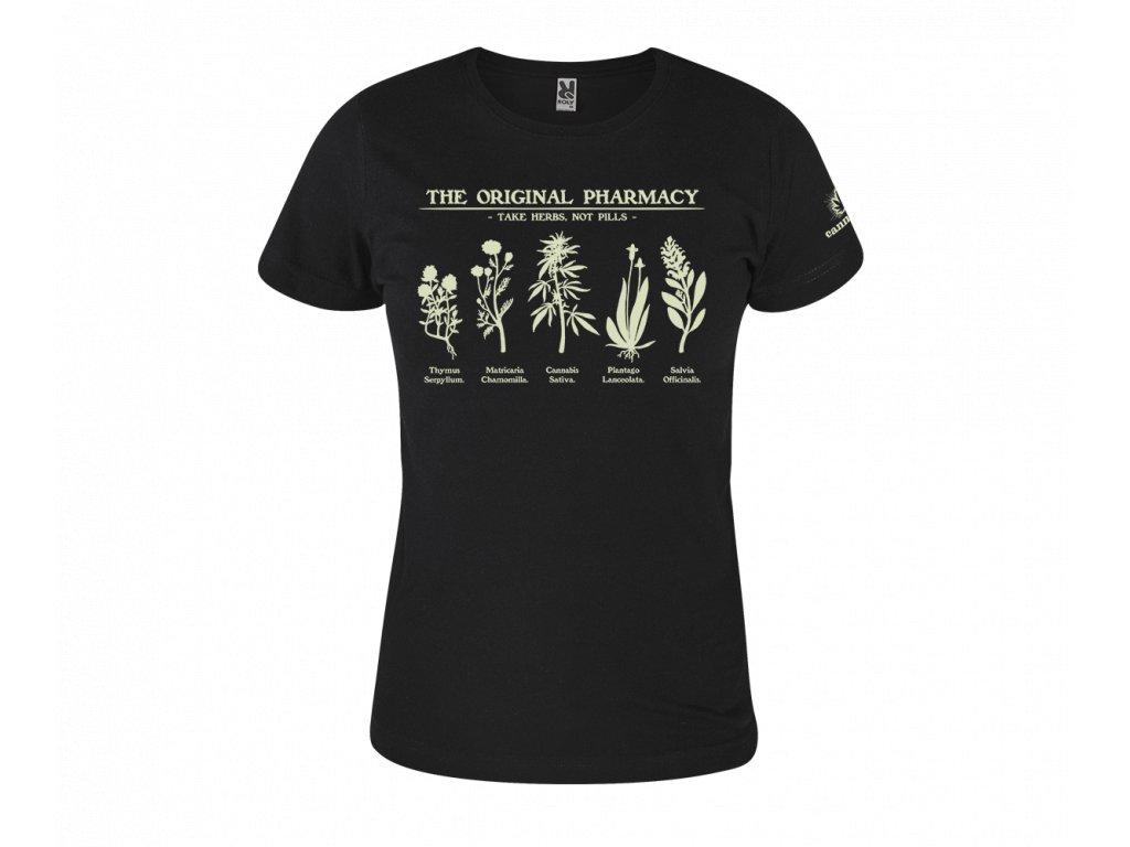 """Dámské triko """"The Original Pharmacy"""""""
