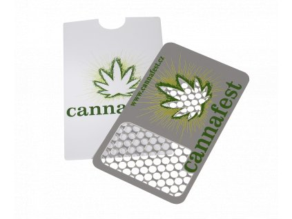 "Grinder Card ""Cannafest"""
