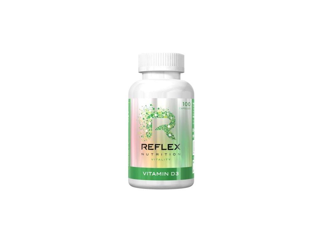 Vitamin D3 (Balení 100 kapslí)