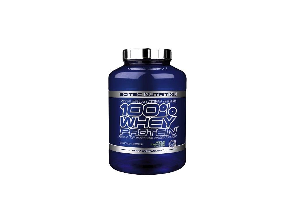 100 % Whey Protein (s BCAA) (Balení 2350g, Příchuť Vanilka)