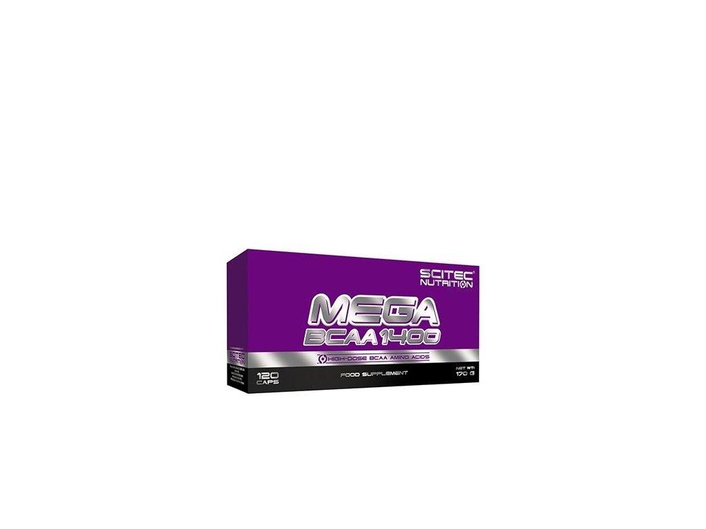 Mega BCAA 1400 (Balení 180 kapslí)