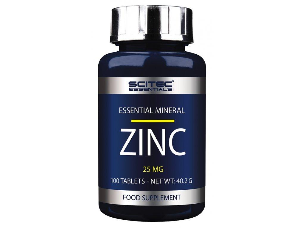 Zinc (Balení 100 tablet)