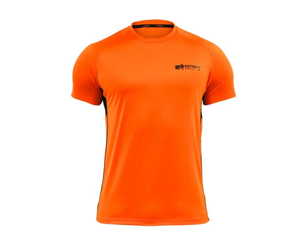 Triko Extrifit pánské E04 (Barva oblečení Oranžová/černá, Velikost XXL)