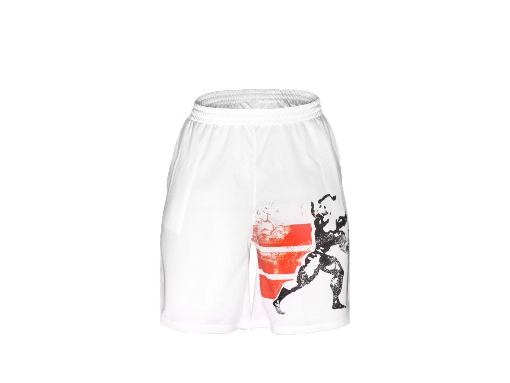 Kraťasy Extrifit 12 (bílé) (Barva oblečení Bílá, Velikost XXL)