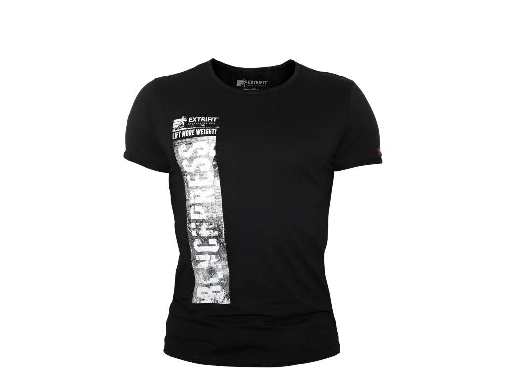 Triko Extrifit pánské 33 (Barva oblečení Černá/bílá, Velikost XXL)