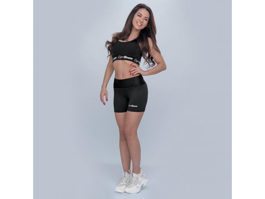 Dámské fitness šortky Fly-By black - GymBeam